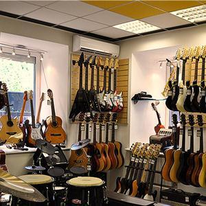 Музыкальные магазины Горного